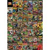 Art Group Marvel Comics, Comic Covers Collage Vintage Advertisement Canvas Wall Art