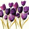 "Art Group Leinwandbild ""Tulips"" von Nicola Evans, Wandbild"