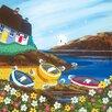 "Art Group Leinwandbild ""Beach Party"" von Nikky Corker, Wandbild"