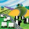 "Art Group Leinwandbild ""Hills and Dales"" von Nikky Corker, Wandbild"