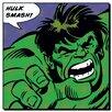 Art Group Hulk, Quote Vintage Advertisement on Canvas