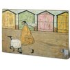 "Art Group Schild ""Along the Prom"" von Sam Toft, Kunstdruck"