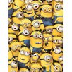 Art Group Despicable Me Many Minions Canvas Wall Art