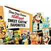 Art Group Kellogg's Choo-Choo Choose Vintage Advertisement Canvas Wall Art