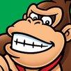 Art Group Super Mario Donkey Kong Canvas Wall Art