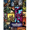 Art Group Guardians of The Galaxy Comics Vintage Advertisement Canvas Wall Art