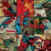 Art Group Marvel Comics Spider-Man Squares Canvas Wall Art
