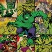 Art Group Marvel Comics Hulk Squares Canvas Wall Art