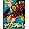 Art Group Iron Man Shoosh Canvas Wall Art