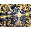 Art Group Doctor Who Exploding Tardis Canvas Wall Art