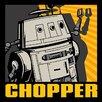 Art Group Star Wars Rebels Chopper Canvas Wall Art