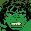 Art Group Marvel Comics Hulk Close-Up Canvas Wall Art