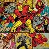 Art Group Marvel Comics Iron Man Squares Canvas Wall Art