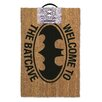 Art Group Batman Welcome to the Batcave Doormat