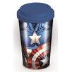 Art Group Marvel Captain America Torso Travel Mug