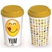Art Group Reisebecher Smiley Emoticon