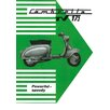 Art Group Lambretta TV 175 Vintage Advertisement Canvas Wall Art