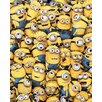 Art Group Despicable Me - Many Minions Canvas Wall Art