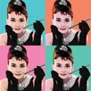 Art Group Audrey Hepburn - Pop Art Canvas Wall Art
