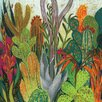 Art Group Shyama Ruffell - The Cactus Canvas Wall Art
