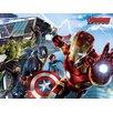 Art Group Avengers Age of Ultron - Re-Assemble Vintage Advertisement Canvas Wall Art