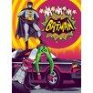 Art Group DC - Batman Bright Vintage Advertisement Canvas Wall Art