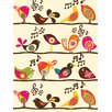 Art Group D - Singing Birds Valentina Ramos Canvas Wall Art
