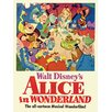 Art Group Alice in Wonderland - Tea Party Vintage Advertisement Canvas Wall Art
