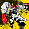 Art Group Thor - Splatter Canvas Wall Art