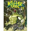 Art Group Suicide Squad - Killer Croc Comic Vintage Advertisement Canvas Wall Art