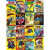 Art Group DC Comics - Superman Comic Covers Montage Vintage Advertisement Canvas Wall Art