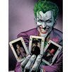 Art Group Batman - Joker Cards Canvas Wall Art