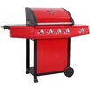Lifestyle Appliances 143cm Grenada Gas Barbecue with 4 Burners