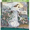 Manual Woodworkers & Weavers Angel of Love Tapestry Cotton Throw
