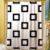 Manual Woodworkers & Weavers Band Shower Curtain