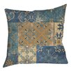 Manual Woodworkers & Weavers Moroccan Patchwork Printed Throw Pillow