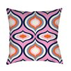 Manual Woodworkers & Weavers Britney Geo Printed Throw Pillow