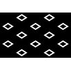 Manual Woodworkers & Weavers Band Black Area Rug