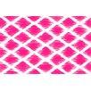 Francie Trellis Pink Geometric Area Rug Wayfair