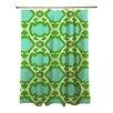 Manual Woodworkers & Weavers Francie Trellis Shower Curtain