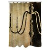 Manual Woodworkers & Weavers Chandelier II Shower Curtain