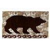 Manual Woodworkers & Weavers Wilderness Bear Area Rug