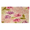 Manual Woodworkers & Weavers Tulips and Lace Area Rug