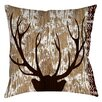 Manual Woodworkers & Weavers Wilderness Deer Indoor/Outdoor Throw Pillow