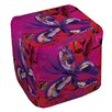 Manual Woodworkers & Weavers Butterfly Ottoman
