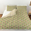 Manual Woodworkers & Weavers Butterfly Diamond Duvet Cover