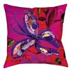 Manual Woodworkers & Weavers Butterfly Printed Throw Pillow