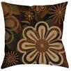 Manual Woodworkers & Weavers Floral Abstract II Indoor/Outdoor Throw Pillow