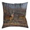 Manual Woodworkers & Weavers Lovers Lane Indoor/Outdoor Throw Pillow