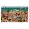 Manual Woodworkers & Weavers Life's a Beach Green Area Rug